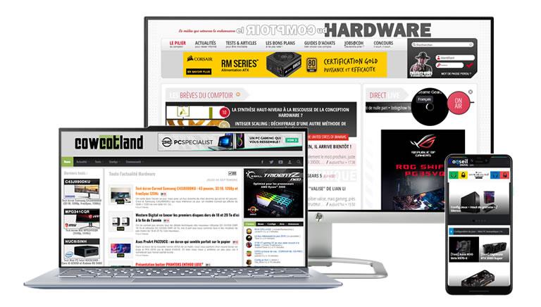 Cowcotland, Le Comptoir du Hardware, Conseil Config